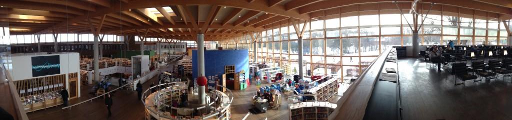 Panoramica della biblioteca